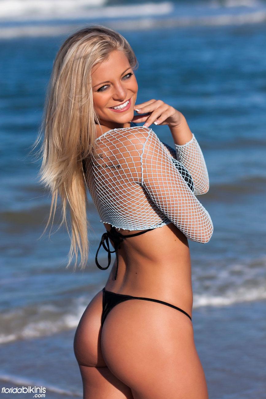 Nearly nude bikini