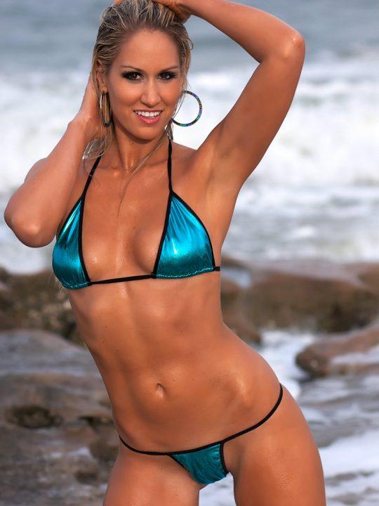 Heather Lynne   Tan Thong Bikini Ass