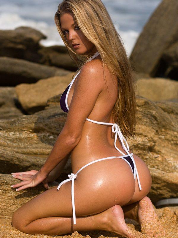 Crystal Alice | Tie Side Thong Bikini
